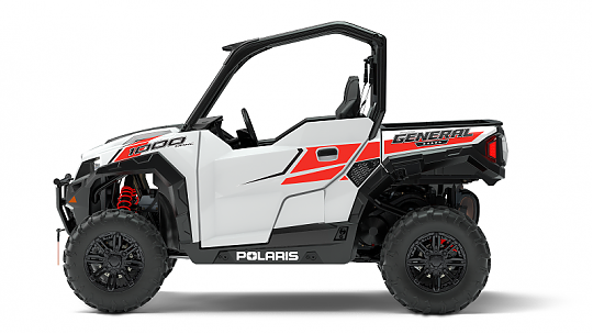 Мотовездеход POLARIS GENERAL 1000 EPS White Lightning фото