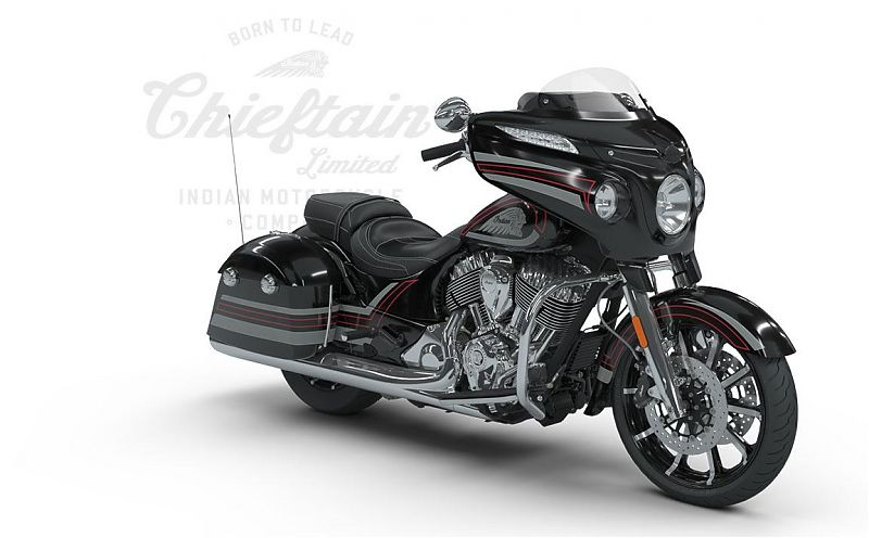 Chieftain Limited, Thunder Black Pearl with Graphics