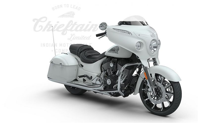 Мотоцикл Indian Chieftain Limited, White Smoke