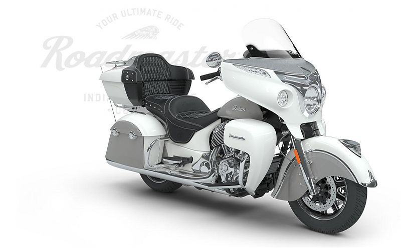 Мотоцикл Indian Roadmaster,  Pearl White over Star Silver