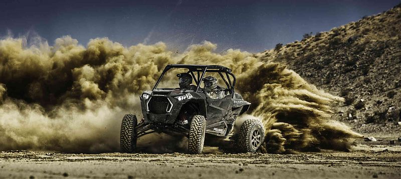 Мотовездеход RZR XP Turbo S Titanium Metallic
