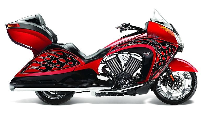 ANSS Vision Tour Red Metallic with Ness Graphics