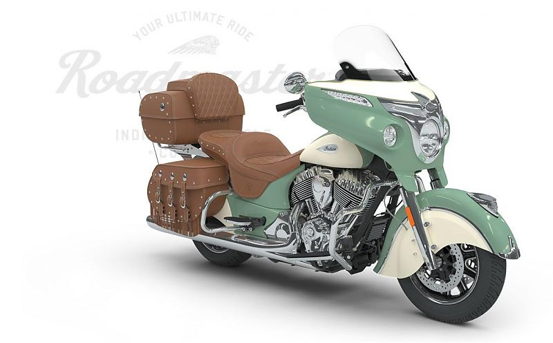 Мотоцикл Indian Roadmaster Classic, Willow Green over Ivory Cream